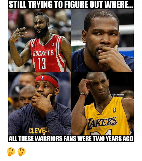 Warriors Come Out To Play Meme: 25+ Best Memes About NBA
