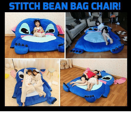 Bean Bagged: STITCH BEAN BAG CHAIR!