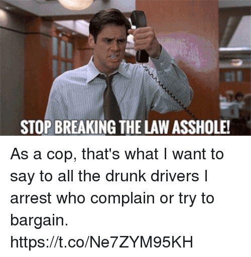 Like may breaking the law asshole couple