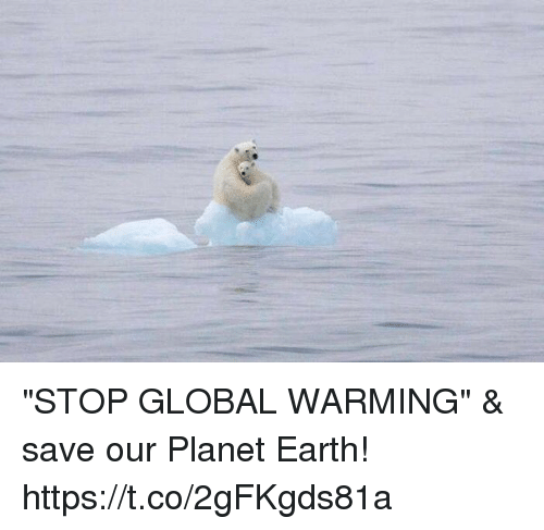 "Globalization: ""STOP GLOBAL WARMING"" & save our Planet Earth! https://t.co/2gFKgds81a"
