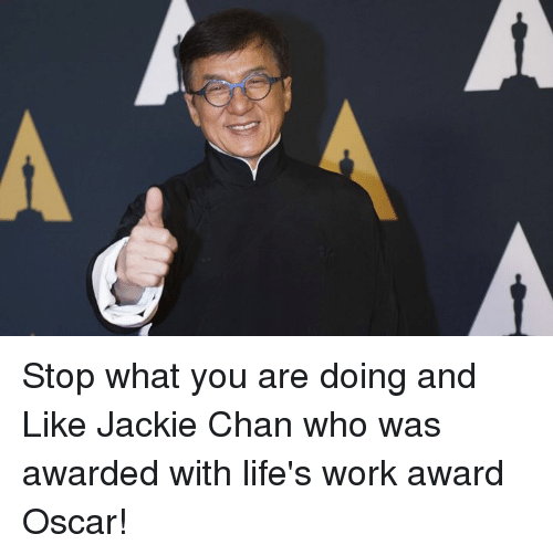 jackie chan s life and work Jackie chan was born in hong kong this made jackie's life willie was impressed with jackie's determination and work ethic although at that time jackie chan.