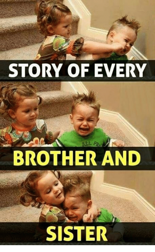 Funny Meme For Brother : Best memes about brother and sister
