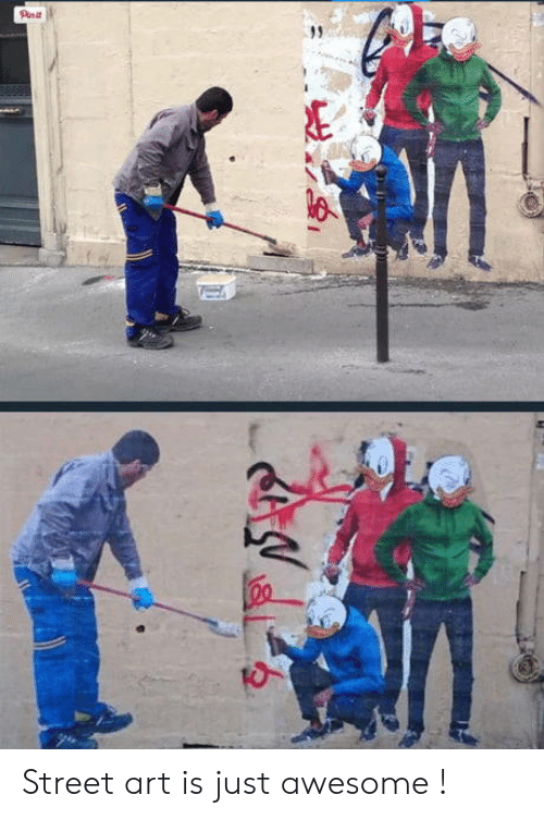 street art: Street art is just awesome !