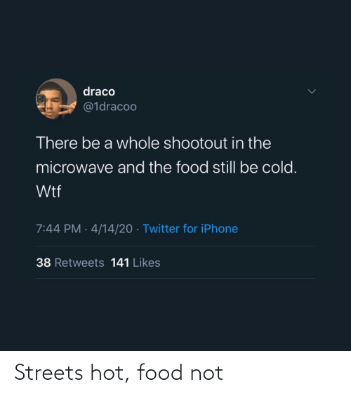 Streets: Streets hot, food not
