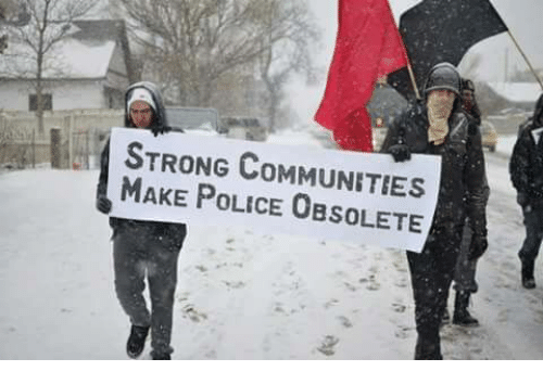 Community, Memes, and 🤖: STRONG COMMUNITIES  MAKE POLICE OBSOLETE