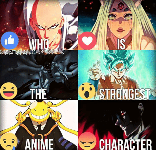 25+ Best Memes About Strongest Anime Character | Strongest ...