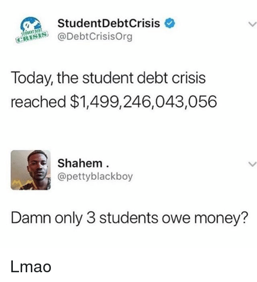 StudentDebtCrisis * Today the Student Debt Crisis Reached ...