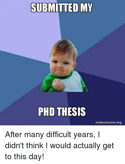 My phd thesis