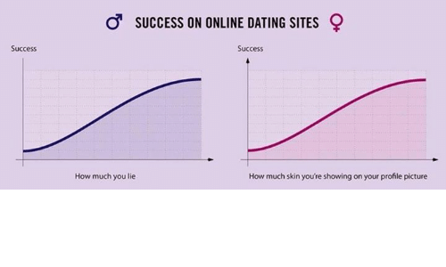 How many people lie on online dating sites