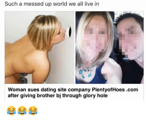 messed up dating site pics