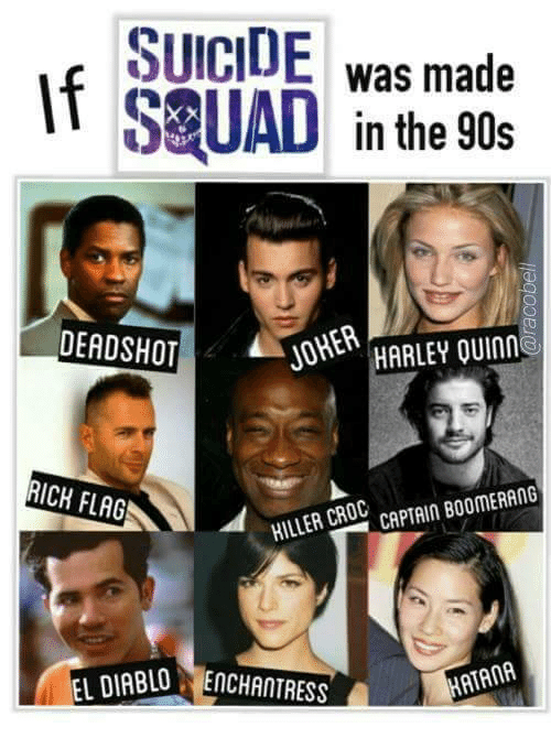suicide was made in the 90s deadshot 2 joharley quinm 24332337 🔥 25 best memes about the 90s the 90s memes,90s Memes
