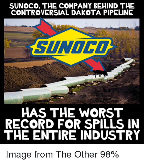 sunoco the company behind the controversial dakota pipeline sunoco has 4567525 sunoco the company behind the controversial dakota pipeline sunoco