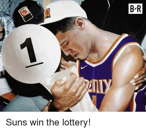 Lottery, Win, and  Suns: Suns win the lottery!