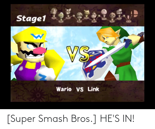super smash: [Super Smash Bros.] HE'S IN!