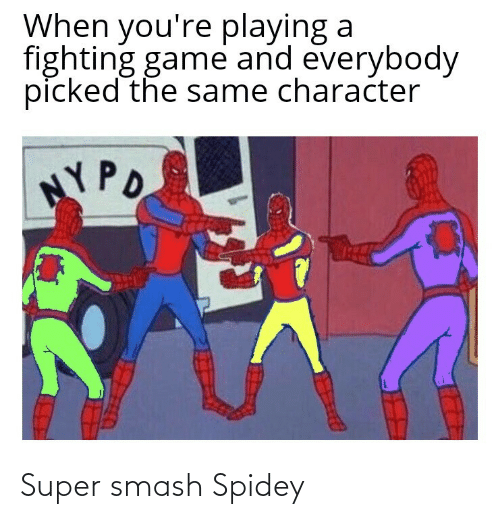 super smash: Super smash Spidey