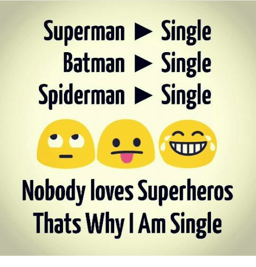 superman single batman single spider man single