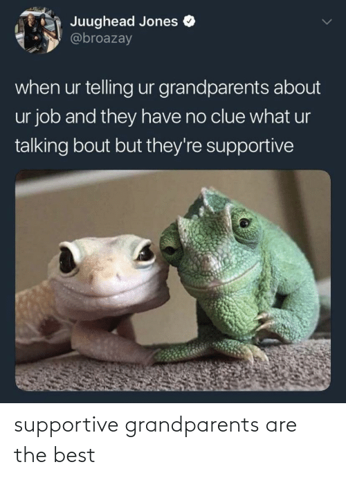 Grandparents: supportive grandparents are the best