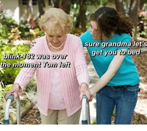 Grandma, Toms, and You: sure grandma let S  get you to bed  the mo  ment Tom left