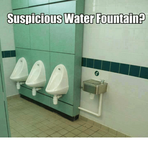Memes, Water, and 🤖: Suspicious Water FountainP