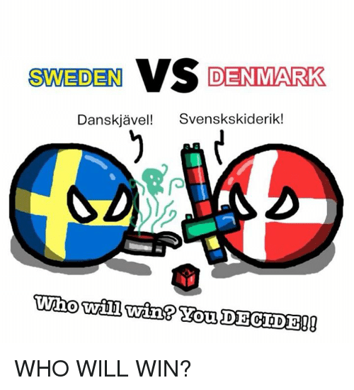 sweden vs denmark