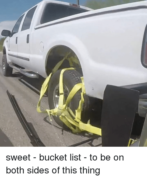 Bucket List, Dank, and 🤖: sweet - bucket list - to be on both sides of this thing