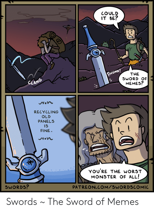 swords: Swords ~ The Sword of Memes