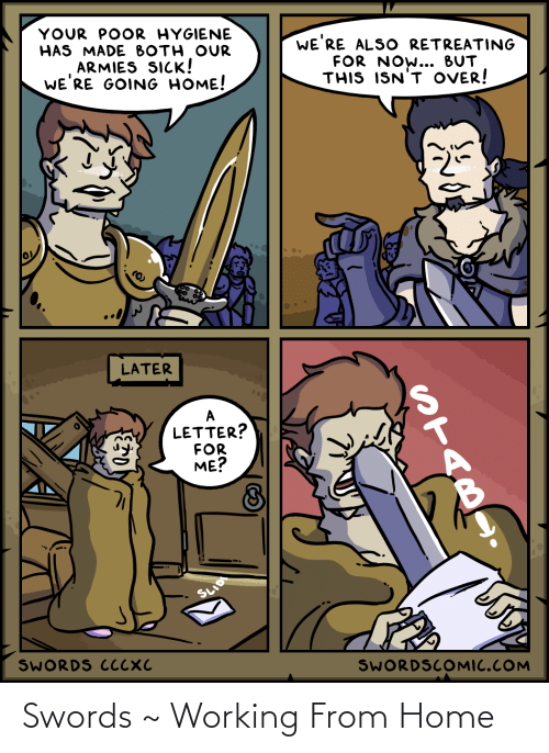 swords: Swords ~ Working From Home