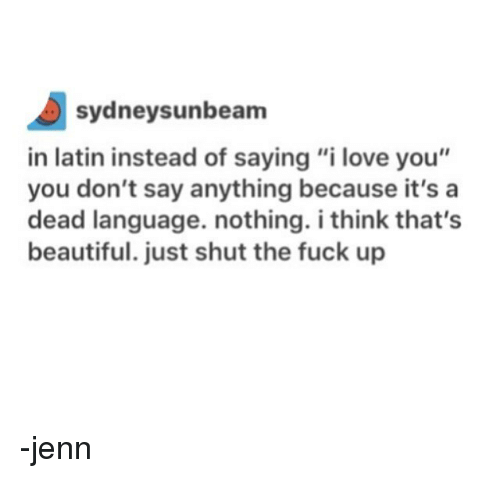 How To Say Beautiful In Latin 25