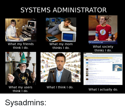 systems administrator what my friends what my mom what society 2674432 🔥 25 best memes about what i really do, reddit, mom, moms, and