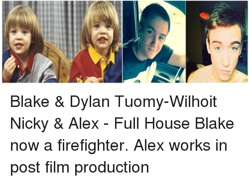 T Blake & Dylan Tuomy-Wilhoit Nicky & Alex - Full House ...