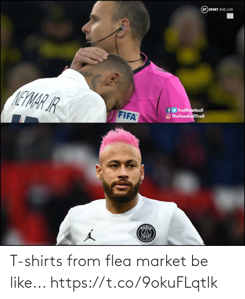 Be like: T-shirts from flea market be like... https://t.co/9okuFLqtlk