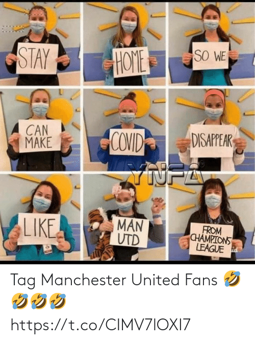 Manchester United: Tag Manchester United Fans 🤣🤣🤣🤣 https://t.co/CIMV7lOXI7