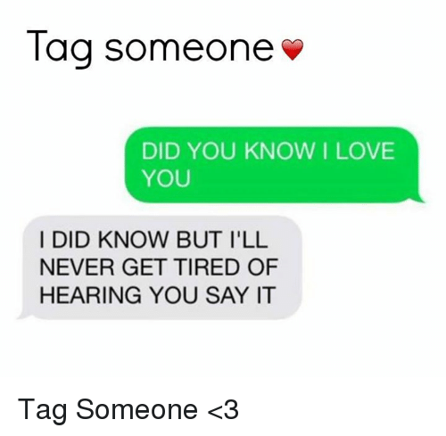 how to know if you love someone test