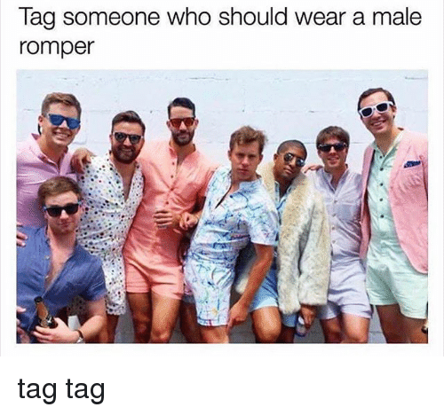 Male Rompers