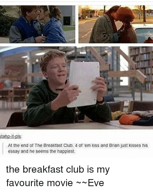 Watching  The Breakfast Club  As An Adult        Things I Noticed     Image