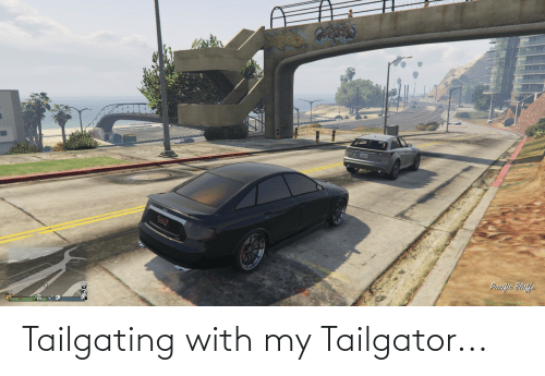 tailgating: Tailgating with my Tailgator...