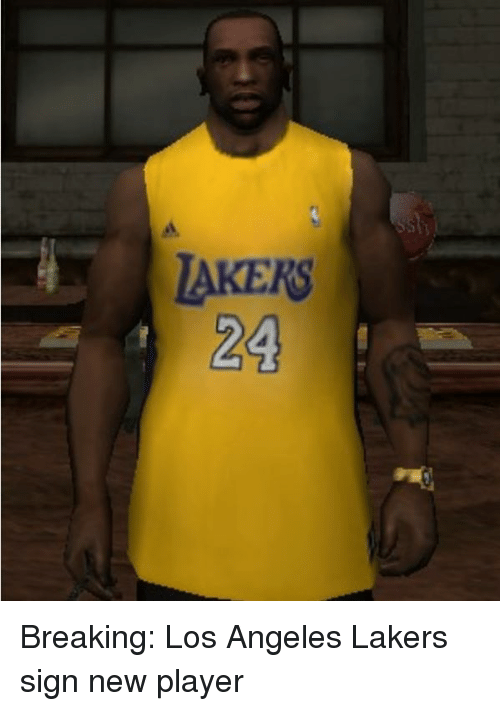 Los Angeles Lakers: TAKERS  24 Breaking: Los Angeles Lakers sign new player