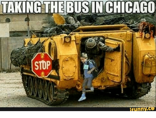 Stop Funny: TAKING THE BUSIN CHICAGO  STOP  funny