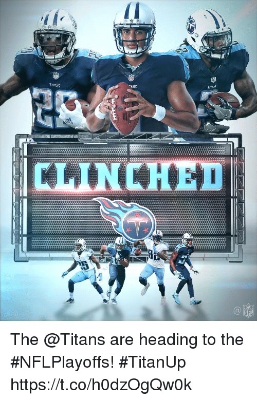 Memes, Nfl, and 🤖: TANS  TITANS  TITANS  NFL The @Titans are heading to the #NFLPlayoffs! #TitanUp https://t.co/h0dzOgQw0k