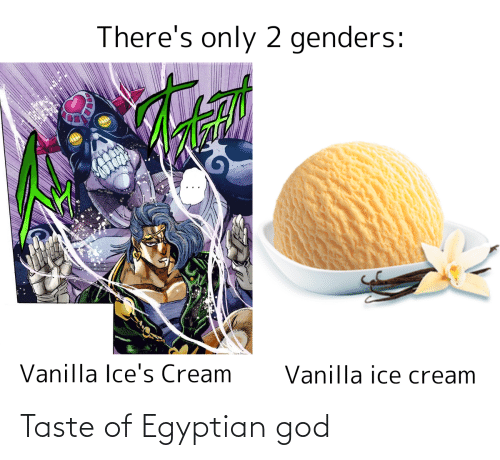Egyptian: Taste of Egyptian god