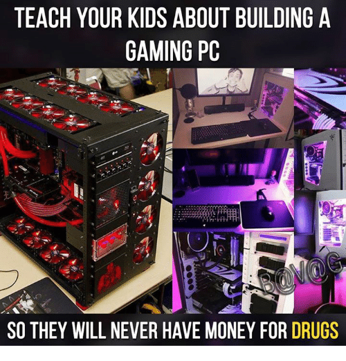 Teach Your Kids About Building A Gaming Pc So They Will