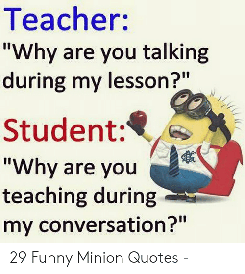🔥 25 Best Memes About Funny Minion Quotes