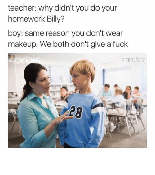 why do teachers give homework to students