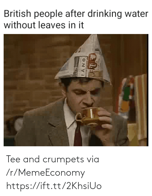 tee: Tee and crumpets via /r/MemeEconomy https://ift.tt/2KhsiUo