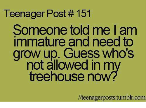Immature People Need To Grow Up Quotes Llll