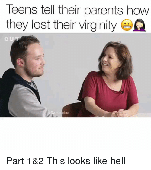 Parents opinion on losing virginity