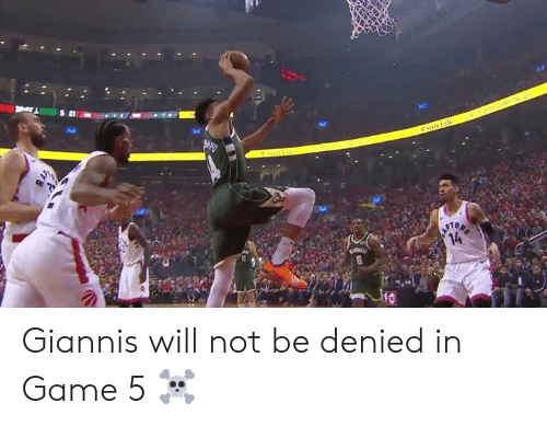 giannis: Tel  10 Giannis will not be denied in Game 5 ☠️
