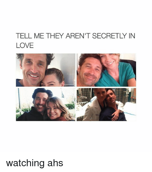 Girl Memes: TELL ME THEY AREN'T SECRETLY IN  LOVE watching ahs