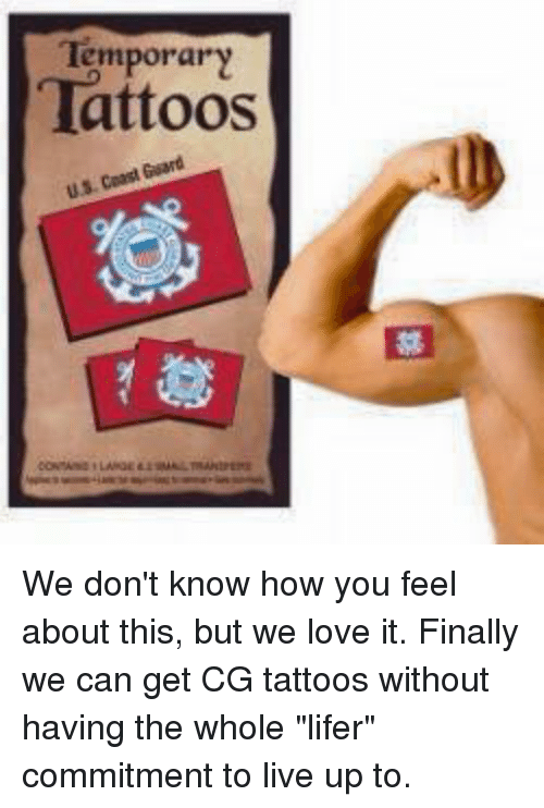 Temporary tattoos we don 39 t know how you feel about this for Where can i get a temporary tattoo
