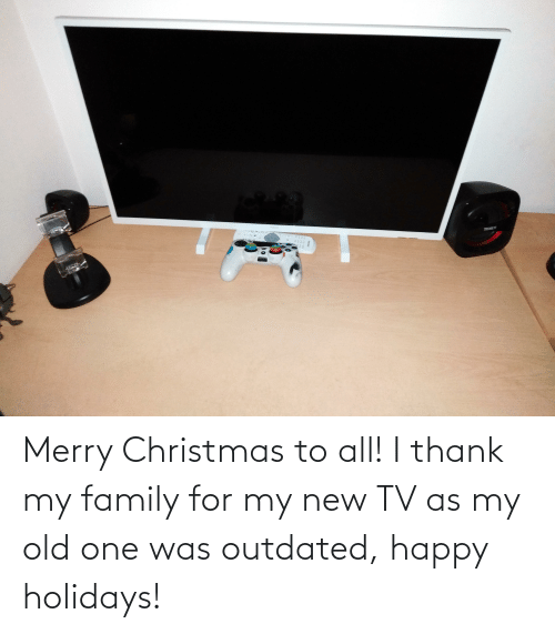 New Tv: TENET  Sar Merry Christmas to all! I thank my family for my new TV as my old one was outdated, happy holidays!